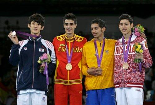 London Olympics Taekwondo Men